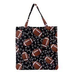 Football Player Grocery Tote Bag