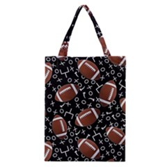 Football Player Classic Tote Bag