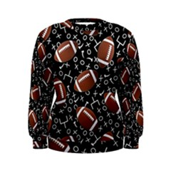 Football Player Women s Sweatshirt