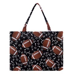 Football Player Medium Tote Bag