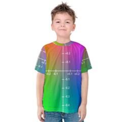 Formula Plane Rainbow Kids  Cotton Tee