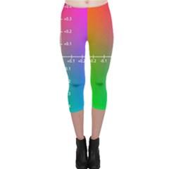 Formula Plane Rainbow Capri Leggings