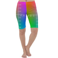 Formula Plane Rainbow Cropped Leggings