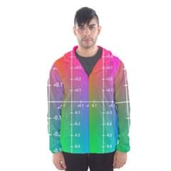 Formula Plane Rainbow Hooded Wind Breaker (Men)