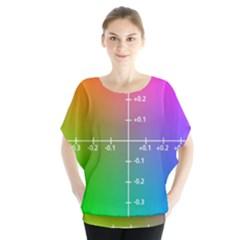 Formula Plane Rainbow Blouse