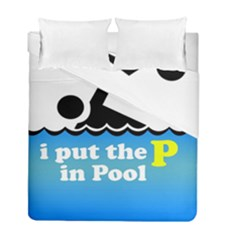 Funny Swiming Water Duvet Cover Double Side (full/ Double Size)