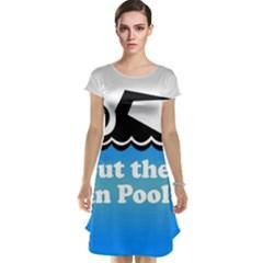 Funny Swiming Water Cap Sleeve Nightdress