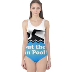 Funny Swiming Water One Piece Swimsuit