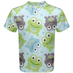 Frog Green Men s Cotton Tee