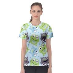 Frog Green Women s Sport Mesh Tee