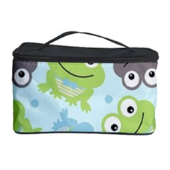 Frog Green Cosmetic Storage Case