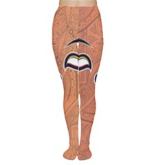 Face Eye Women s Tights