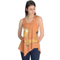 Giraffe Copy Sleeveless Tunic