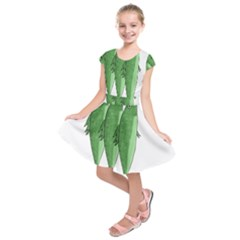 Mackerel   Green Kids  Short Sleeve Dress