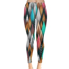 Background Pattern Abstract Triangle Leggings