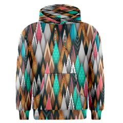 Background Pattern Abstract Triangle Men s Pullover Hoodie