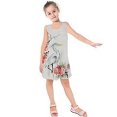 Background Scrapbook Paper Asian Kids  Sleeveless Dress