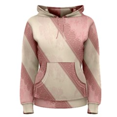 Background Pink Great Floral Design Women s Pullover Hoodie