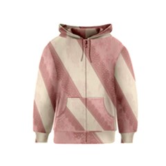 Background Pink Great Floral Design Kids  Zipper Hoodie