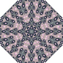 Background Abstract Pattern Grey Hook Handle Umbrellas (Small)