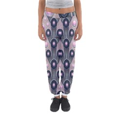 Background Abstract Pattern Grey Women s Jogger Sweatpants
