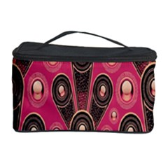 Background Abstract Pattern Cosmetic Storage Case