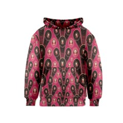 Background Abstract Pattern Kids  Pullover Hoodie