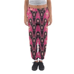 Background Abstract Pattern Women s Jogger Sweatpants