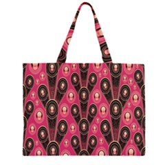Background Abstract Pattern Large Tote Bag
