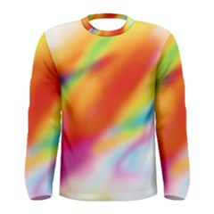 Blur Color Colorful Background Men s Long Sleeve Tee