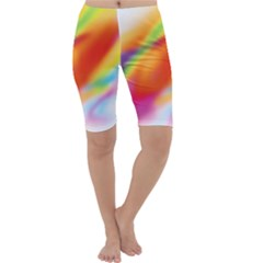 Blur Color Colorful Background Cropped Leggings