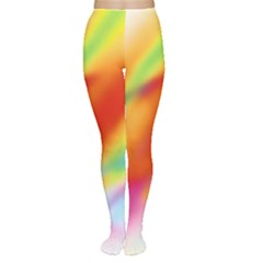 Blur Color Colorful Background Women s Tights
