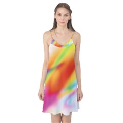 Blur Color Colorful Background Camis Nightgown