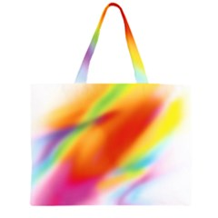 Blur Color Colorful Background Large Tote Bag