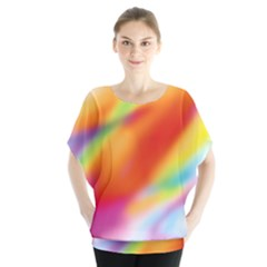 Blur Color Colorful Background Blouse