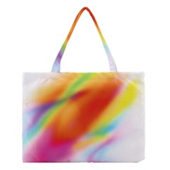 Blur Color Colorful Background Medium Tote Bag