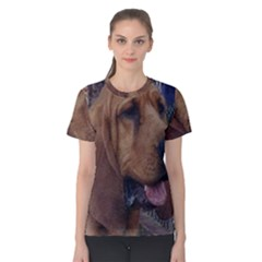 Bloodhound  Women s Cotton Tee