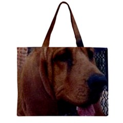 Bloodhound  Zipper Mini Tote Bag