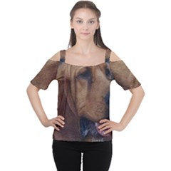 Bloodhound  Women s Cutout Shoulder Tee