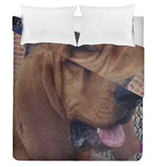 Bloodhound  Duvet Cover Double Side (Queen Size)