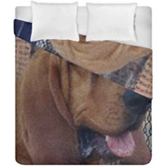 Bloodhound  Duvet Cover Double Side (California King Size)