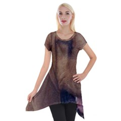 Bloodhound  Short Sleeve Side Drop Tunic