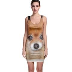Pomeranian Sleeveless Bodycon Dress