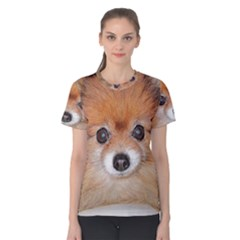 Pomeranian Women s Cotton Tee