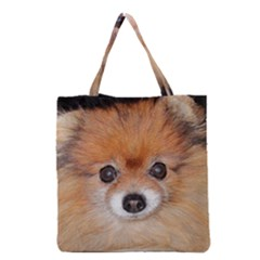 Pomeranian Grocery Tote Bag