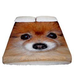 Pomeranian Fitted Sheet (California King Size)