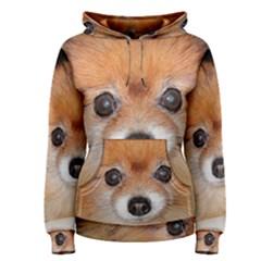 Pomeranian Women s Pullover Hoodie