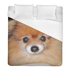 Pomeranian Duvet Cover (Full/ Double Size)
