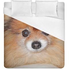Pomeranian Duvet Cover (King Size)