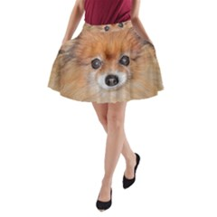 Pomeranian A-Line Pocket Skirt